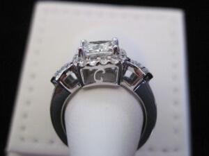 custom initial ring hunt valley md,