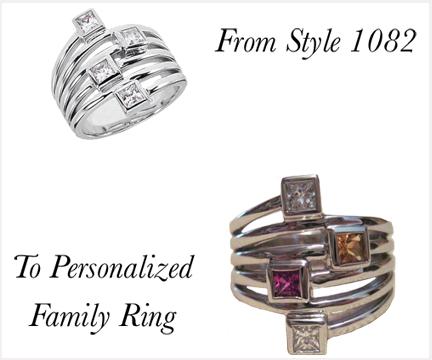 Pre-designed Jewelry