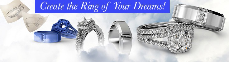 Custom engagement ring banner 1
