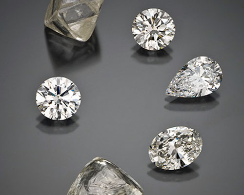 Natural Mined Diamonds